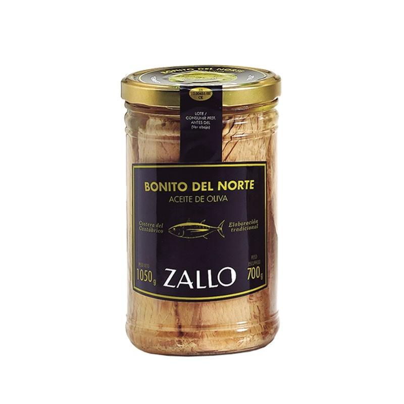 Bonito del Norte in olive oil loins in Olive Oil (1050 gr)