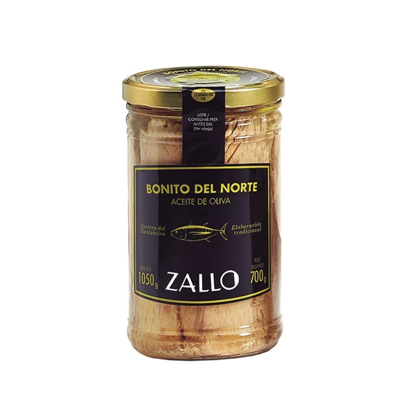 Filets Bonito del Norte à l'huile d'olive (1050 gr)
