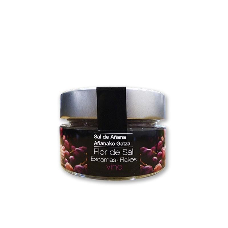 Escamas de Flor de Sal de vino 70 gr