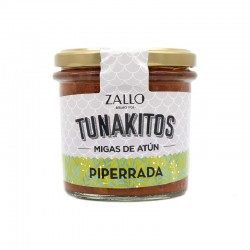 Tunakito (Chapelure de thon) Piperrada
