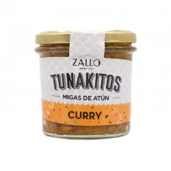 Tunakitos (Thunfischkrümel) Curry