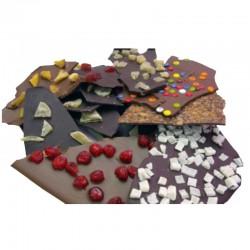 Chocolates en caja titanio guggi