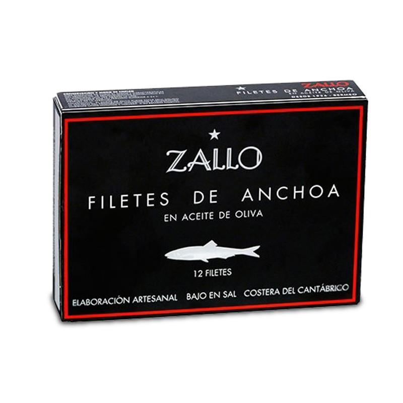 Filetes de Anchoa del Cantábrico Premium (12 filetes)