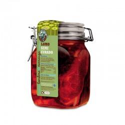 Filet de proc dans l'huile d'olive