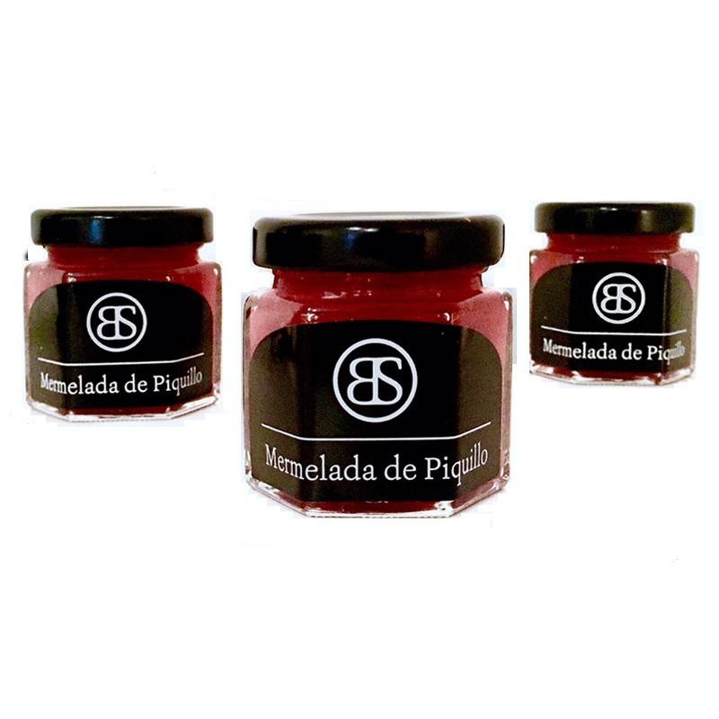 Das Mus aus Piquillo-Paprika