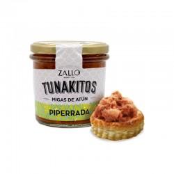 Tunakito (Migas de Atún) Piperrada