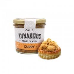 Tunakitos (Migalhas de atum) Curry