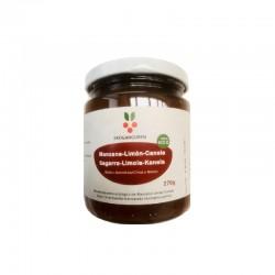 Bio-Apfel-Zitrone-Zimt-Marmelade