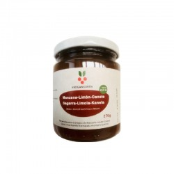 Sagar-limoi-kanela marmelada organikoa