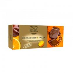 Cookies de chocolate e laranja