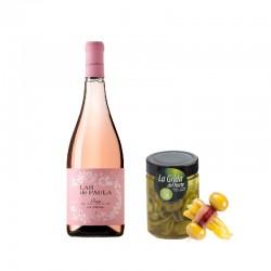 Pack Vinho Rosé + Gilda