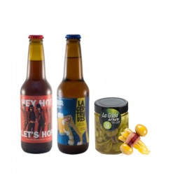 Pack Cerveza Artesana + Gilda