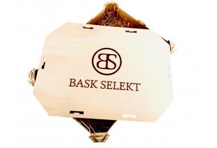 Confezione prodotti gastronomici baschi | Lotto prodotti regalo Natale